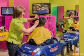 Corte de pelo Niño/a en Peluquería Kidsclub Las Condes
