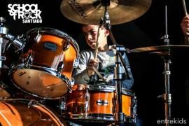 4 clases de música en School of Rock, Las Condes
