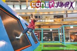 Ven a saltar en Coney Jump - Mall Arauco Maipú