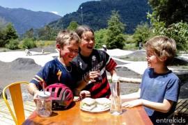 Entrada + Menú en Cafetería Pescador del Parque Hueñu Hueñu