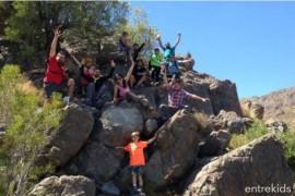 Trekking con niños en el Parque Mahuida