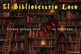 El Bibliotecario Loco / Escape Room Kids