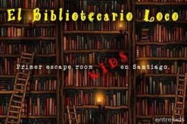 El Bibliotecario Loco / Escape Room Kids