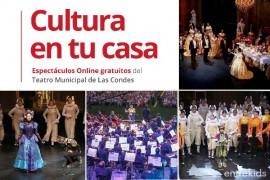 Mira los espectáculos online gratuitos del Teatro Municipal de Las Condes
