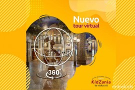 Recorre el Tour Virtual de KidZania