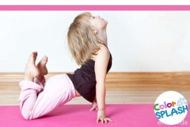 Yoga para niños online - Color Splash