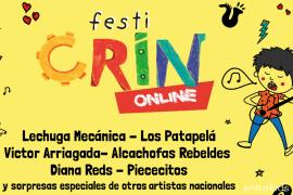 FestiCRIN Online con 18 bandas infantiles e invitados especiales