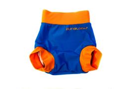 Pañal antifuga azul/naranjo UPF 50+