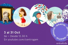 Sábados de cuentos en Octubre GAM
