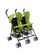Coche Paragua Doble Baby Way Verde