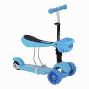 Scooter  2 En 1 Baby Way Azul