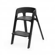 Silla Steps Black Roble