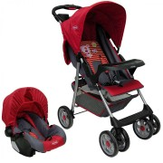Coche Travel System Zoom - Rojo