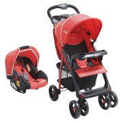 Coche Travel System Jazz - Rojo