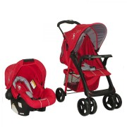 Coche Travel System Jazz - Rojo RL