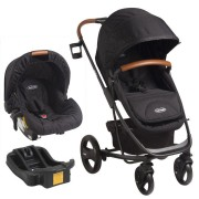 Coche Nexus Travel System - Negro