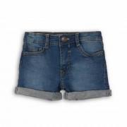 Pantalones cortos de mezclilla con bolsillos primarios