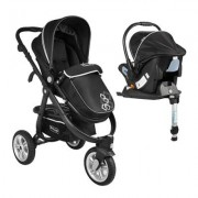 Coche Travel System Delta RS-13750-3 Negro