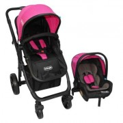 Coche Travel System Volta RS-13780-2 Fucsia