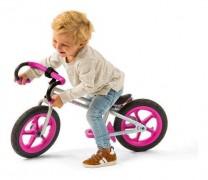 Bicicleta De Equilibrio Chillafish Estilo Fixie -Pink