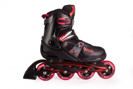 Patin De Niño Black/Red S (32-35)