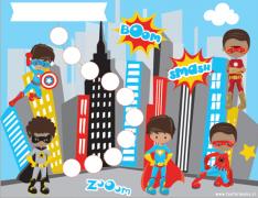 Block de Incentivos Superheroes