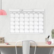 Calendario Blanco Grande