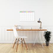 Calendario Blanco Mediano