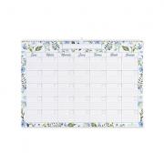 Calendario Flores Azules Mediano