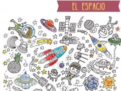 Poster XXL - Viaje al Espacio