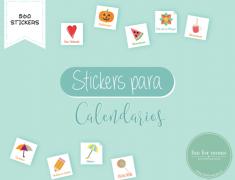 Stickers para Calendarios