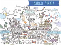Poster XXL - Barco Pirata