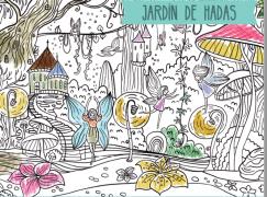 Poster XXL - Jardín de Hadas