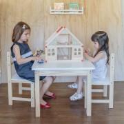 Mesa 50x60 cm + dos sillas
