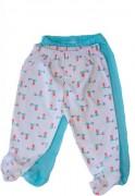 Pack Pantalones Niña Blanco