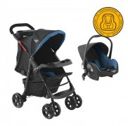 Coche Travel System Baby Way Azul Bw-413B18