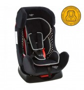 Butaca De Auto Baby Way Reclinable Bw-742 Negra/Bco