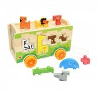 Juguete Didactico Encaje Zoologico Baby Way Bw-Jm08
