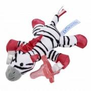 Sujeta chupetes zebra
