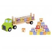 Camión con cubos alfabeto