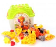 Casa Lego Con Reloj
