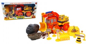 Camion De Construccion Con Casco