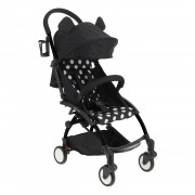 Coche Paseo City Baby Way Blanco-Negro