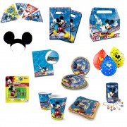 Pack Cotillón Mickey Mouse 6 Personas
