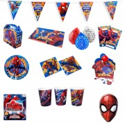 Pack Cotillón Spiderman 6 Personas