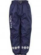 Pantalón impermeable azul marino