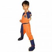 Disfraz Gokú - Dragon Ball Z - Niños 4 A 5 Años - Pronobel