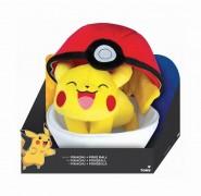 Pokemon - Peluche - Pikachu Y Poke Ball - Tomy