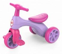 Triciclo Rosa Con Pedal Bex