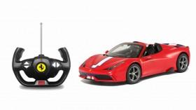 Autocontrol Rastar Ferrari Rojo y Blanco